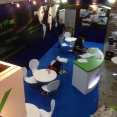 2014高機能フィルム展の現場作業レポート